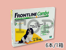 フロントラインコンボ 犬用10kg未満画像