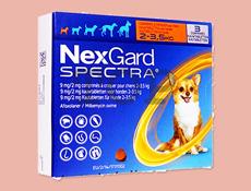 ネクスガードスペクトラ11.3(超小型犬 2~3.5kg)