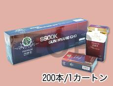 禁煙ヨモギタバコ(赤色)